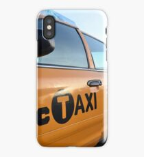 NYC Taxi iPhone Case/Skin