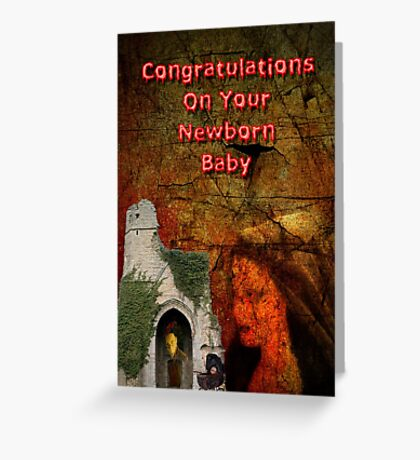 Newborn Greeting Card Greeting Card