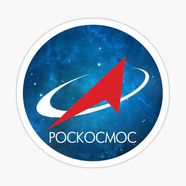 Roscosmos Nebula logo Sticker