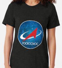 Roscosmos Nebula logo Tri-blend T-Shirt