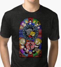 Fullmetal Alchemist Stained Glass Tri-blend T-Shirt