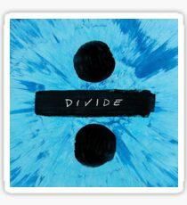 Divide ÷ - Ed Sheeran Sticker