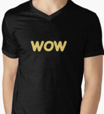 Dogecoin WOW! Gold Text T-Shirt