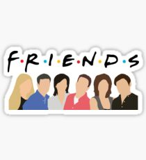 FRIENDS Characters Sticker
