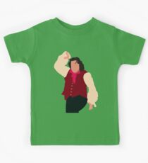There's no man in town half as manly... Kids Tee