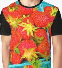 Strawberry Pints Graphic T-Shirt