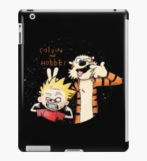 Calvin And Hobbes Funny Face iPad Case/Skin