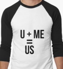 u and me Men's Baseball ¾ T-Shirt