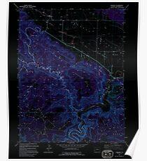 USGS TOPO Map Colorado CO Paradox 234063 1994 24000 Inverted Poster