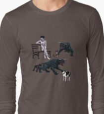 Gozer at the Dog Park Long Sleeve T-Shirt