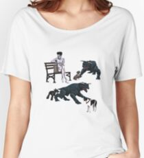 Gozer at the Dog Park Women's Relaxed Fit T-Shirt