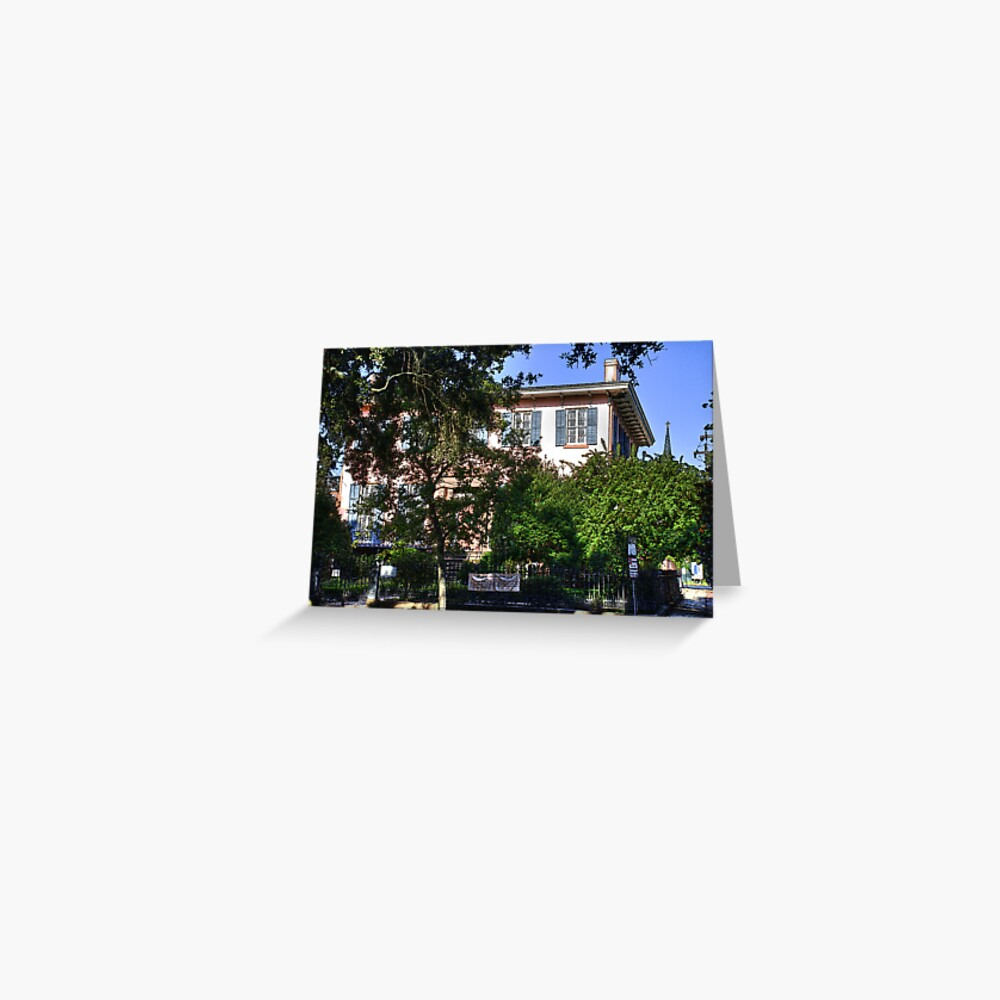 Savannah Home Greeting Card