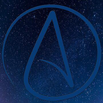 Atheist Night Sky by HandbagMafia