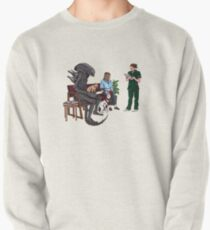 Alien Takes Jonesy to the Vet Pullover