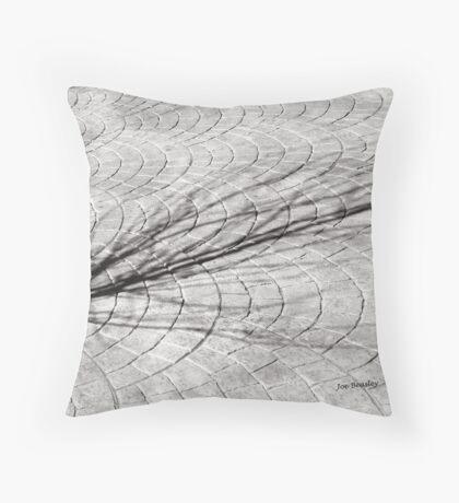 Winter Shadow Throw Pillow