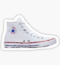 Converse White hightop Sticker