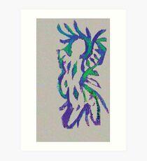 Nureyev Wildman Art Print