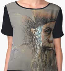 Radagast the Brown Chiffon Top
