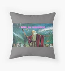 Twirl On Them Pharaohs Throw Pillow