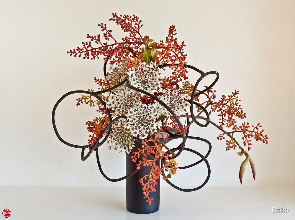 Ikebana-061 by Baiko
