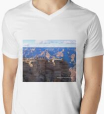 Grand Canyon Viewing Area Men's V-Neck T-Shirt