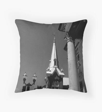Temples Throw Pillow