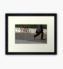 walking by Framed Print