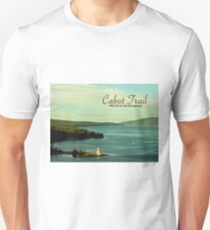 Cabot Trail Lighthouse Nova Scotia Unisex T-Shirt