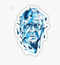 Bruce Willis is my homeboy ( light colors) Sticker