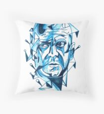 Bruce Willis is my homeboy ( light colors) Throw Pillow