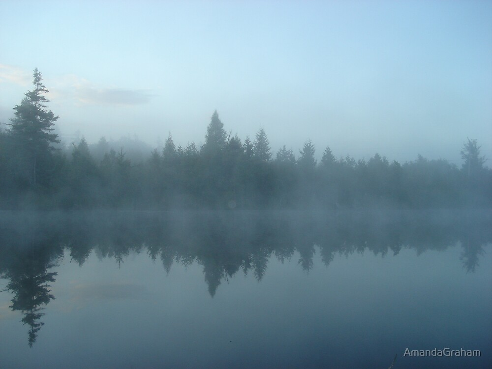 Blue mist by AmandaGraham