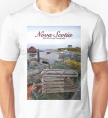 Nova Scotia - Peggy's Cove Harbor Unisex T-Shirt