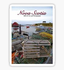 Nova Scotia - Peggy's Cove Harbor Sticker