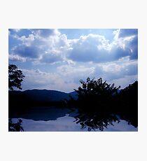 The Lakes View Photographic Print