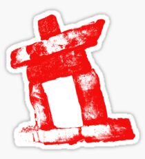 Canada rock man -RED- Sticker