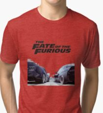 The Fate Of The Furious F8 Tri-blend T-Shirt