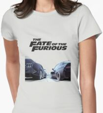 The Fate Of The Furious F8 Womens Fitted T-Shirt