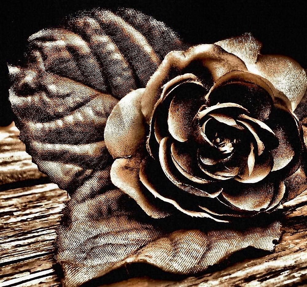 golden rose by brandie
