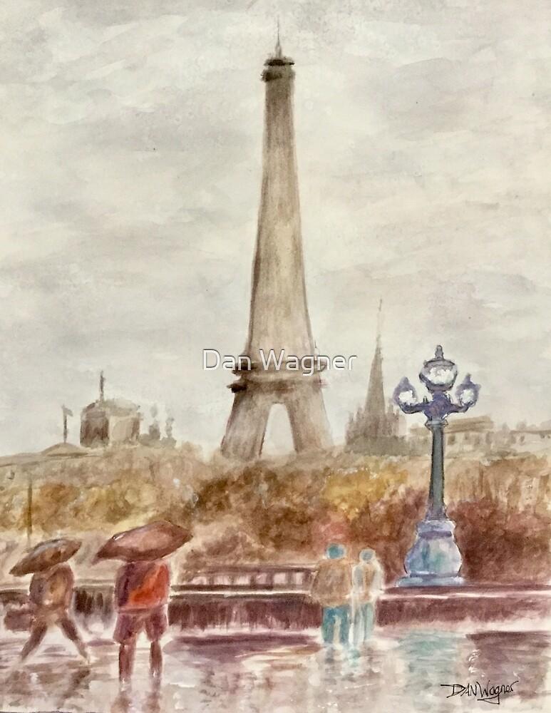 Misty Paris by Dan Wagner