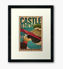 Castle in the Sky Framed Print