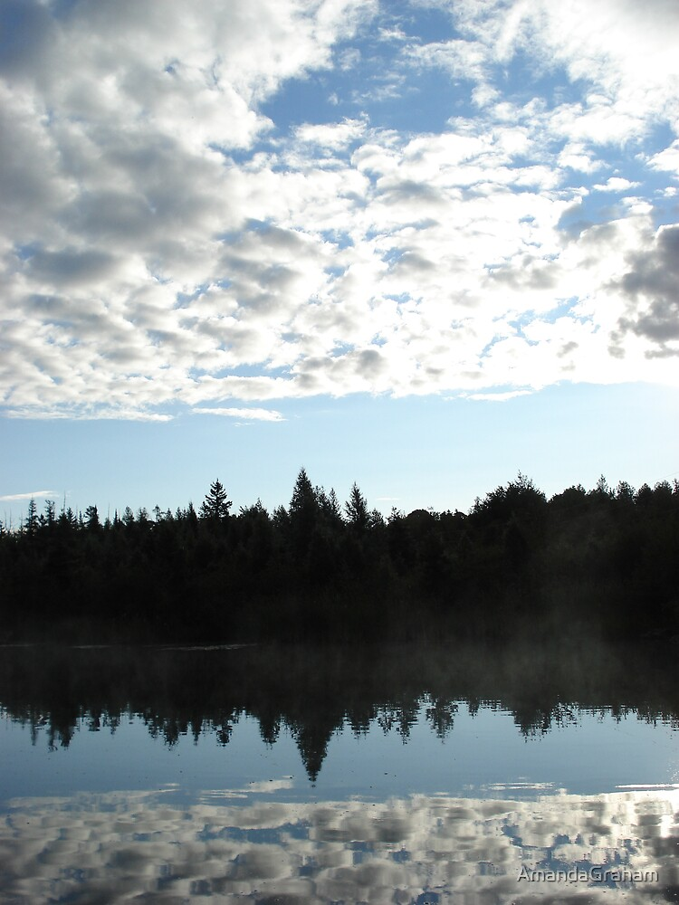 Reflection of clouds by AmandaGraham