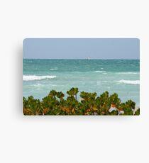 Gulf of Mexico sailing Canvas Print