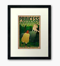Princess Mononoke - Day Framed Print