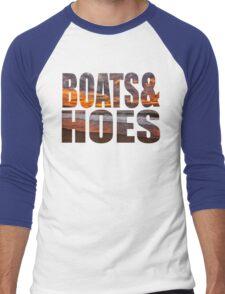 Boats And Hoes Men's Baseball ¾ T-Shirt