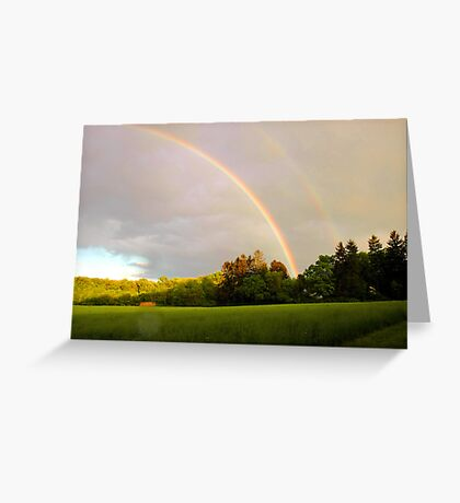 Double Vision Greeting Card
