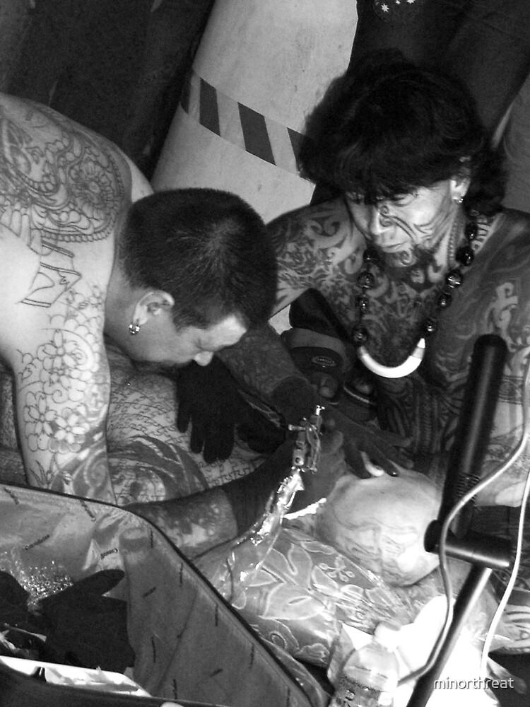 Alex's face tattoo by minorthreat