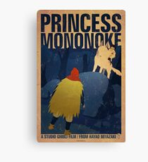 Princess Mononoke - Night Canvas Print