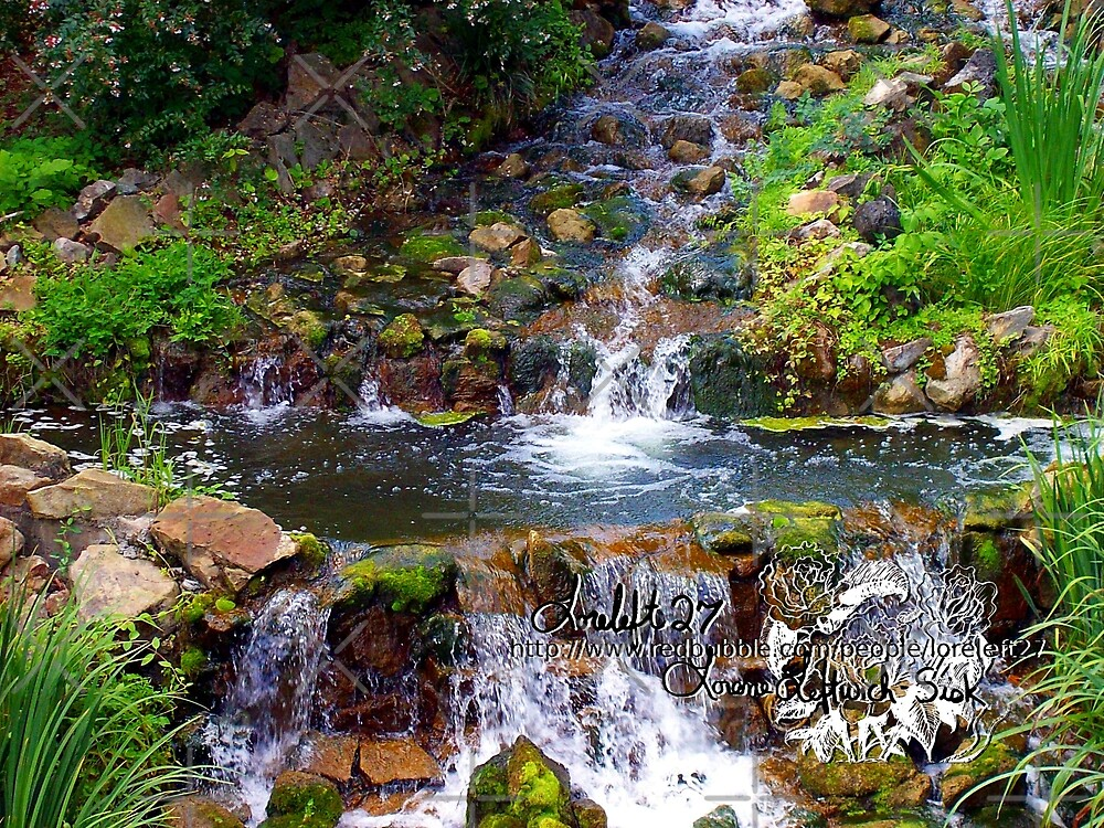 busch garden falls by LoreLeft27
