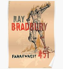 Fahrenheit Four Fifty-One Poster