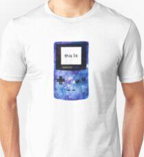 lit game boy color T-Shirt